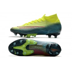 Nike Superfly VII Elite SE AG Football Boots Green Blue