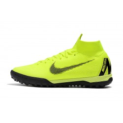 Nike SuperflyX 6 Elite TF Football Boots Fluo Green