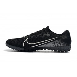 Nike Vapor 13 Pro TF Football Boots Black Silver
